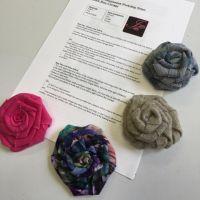 Imogen's Imagination Fabric Rose Workshop