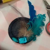 No Sewing Feather Fascinator Workshop