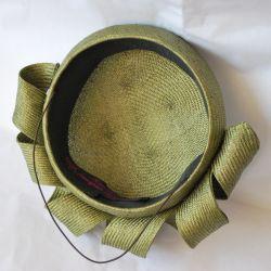 Green Straw Re-work Hat