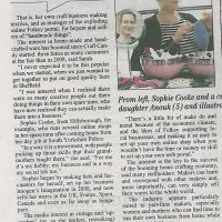 Imogen's Imagination Sheffield Telegraph Jul 11