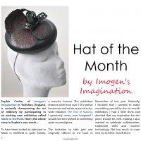 Imogen's Imagination Hat of the Month HATalk Sept 16