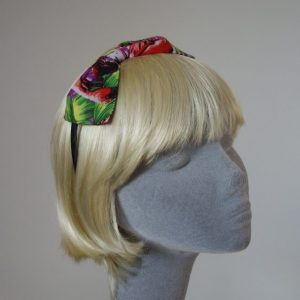 Purple Flamingo Bow Headband