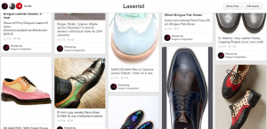 Brogue research on Pintrest