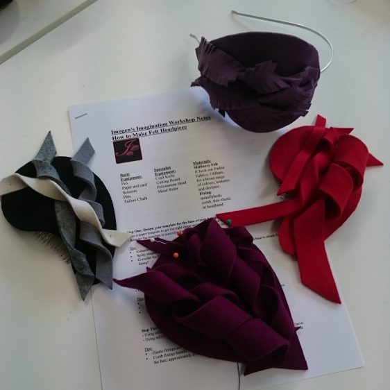 Felt Headpiece Workshop