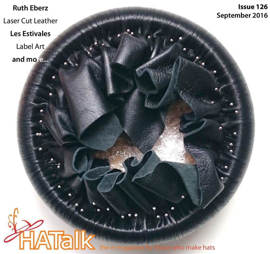 HATalk-Hat of the Month- Front Cover