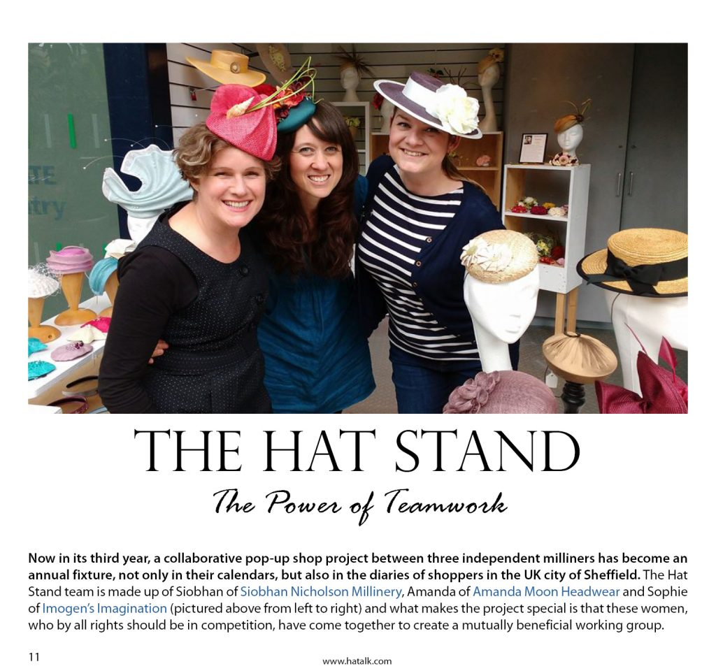 HATalk Magazine The Hat Stand