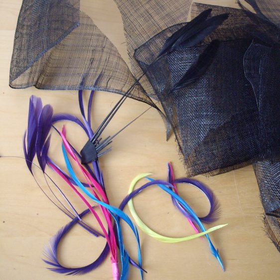 Sinamay and Feather Fascinator Workshops