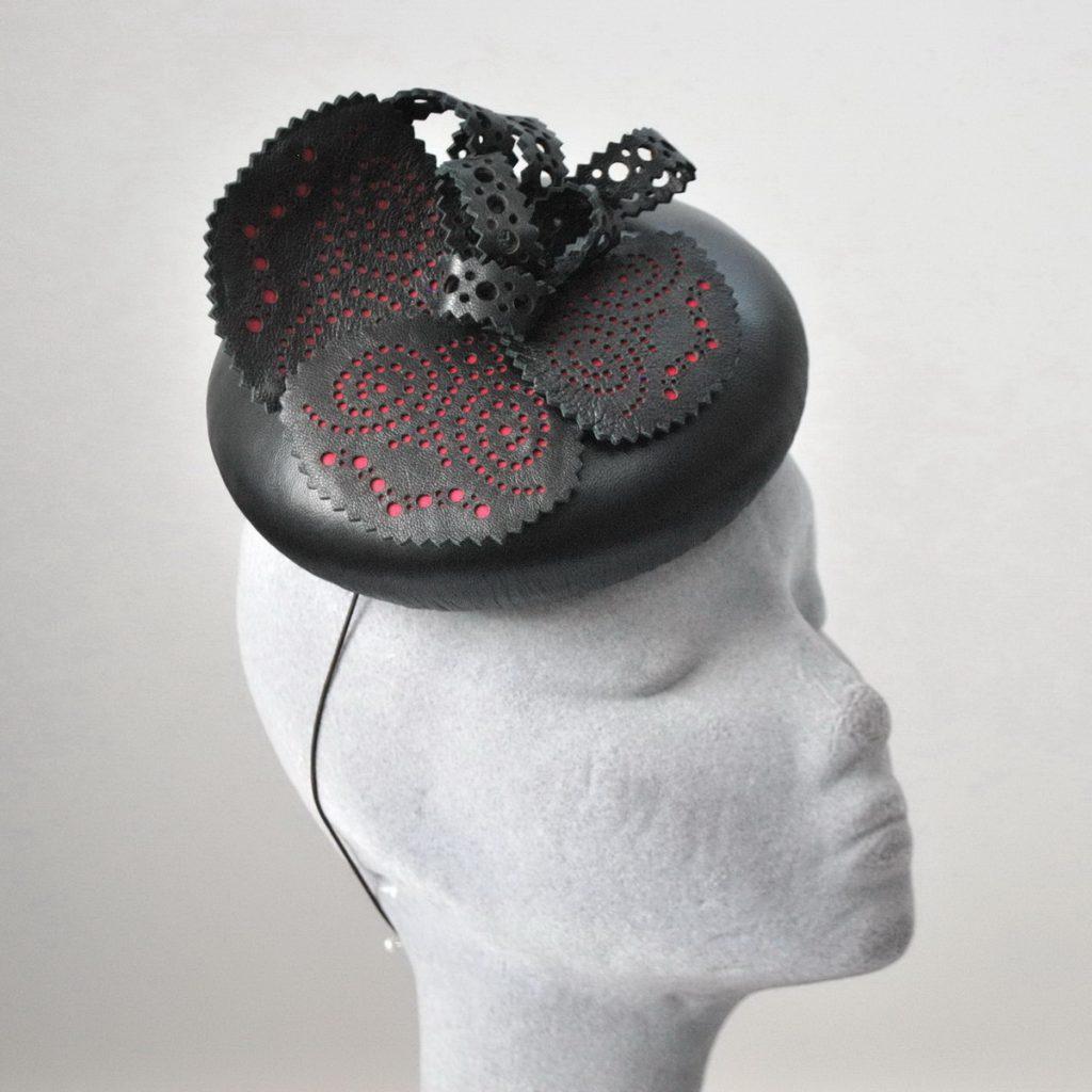 Leather Laser Cut Hat