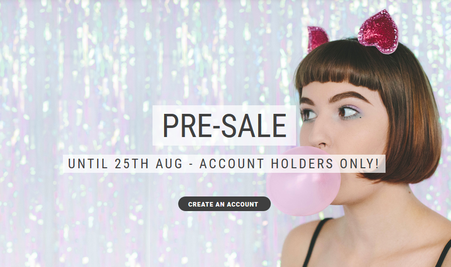 Glitter Ears Pre-Sale Now Open