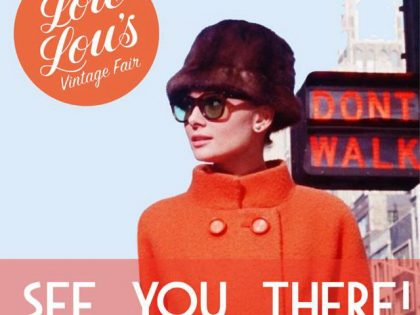 Lou Lou's Sheffield Vintage Fair: 14th October 2017