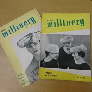British Millinery Trade Magazines 1956 - Museum of Hatting Stockport
