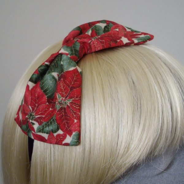 Red Christmas Headband Stocking Filler Gift