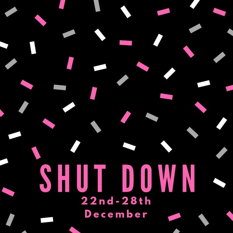 Christmas Shutdown 2019