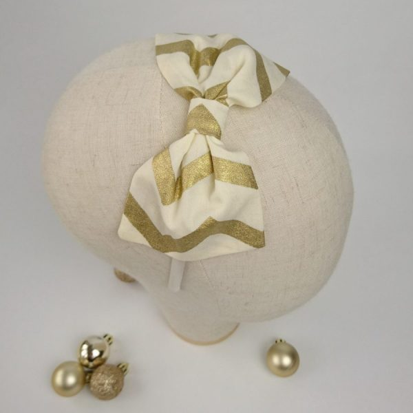 Gold Girls Christmas party headband