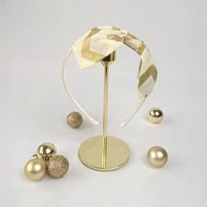 Gold Christmas Headband