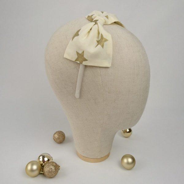Gold Star Novelty Christmas Headband