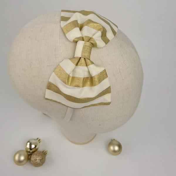 Gold Christmas Headband