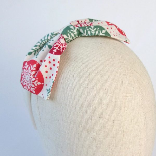 Red Green Christmas Hair Accessory
