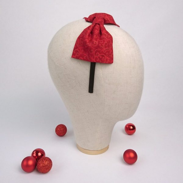 Red Christmas Hair Accessory