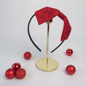 Red Christmas Womens Headband