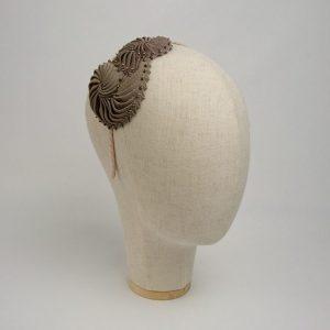 Bronze Nautilus Shell Headband