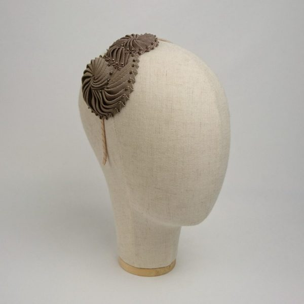 Bronze Nautilus Shell Headband