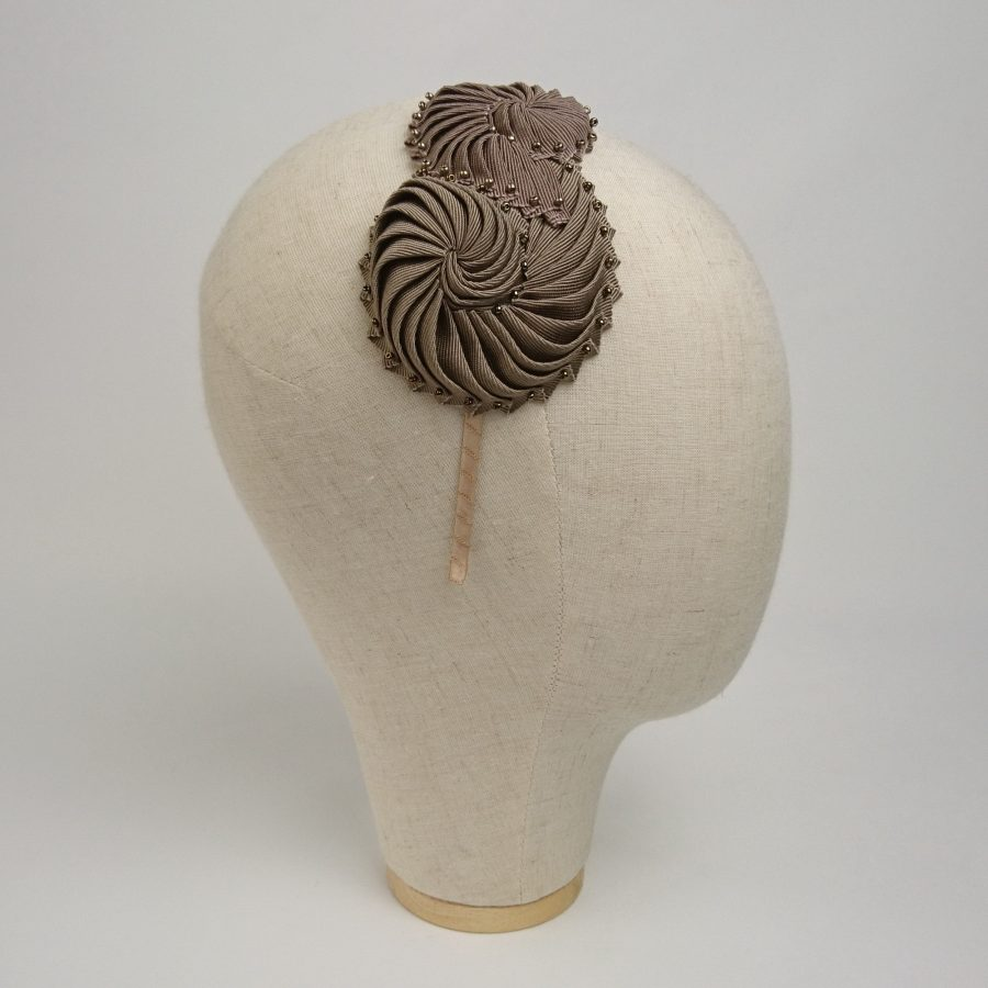 Hair accessories for an autumn or winter wedding unique headband