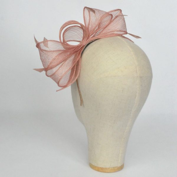 Spring wedding fascinator hand made in the UK