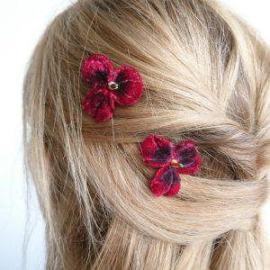 Red Hair flowers