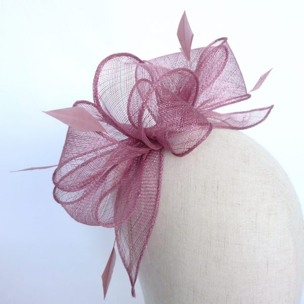 Wedding fascinators for guests handmade by Imogen's Imagination
