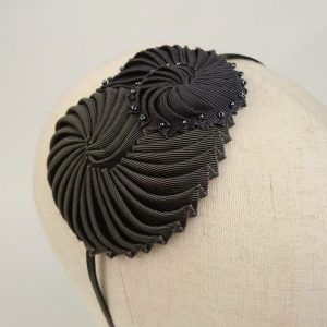 Pewter Nautilus Shell Headband