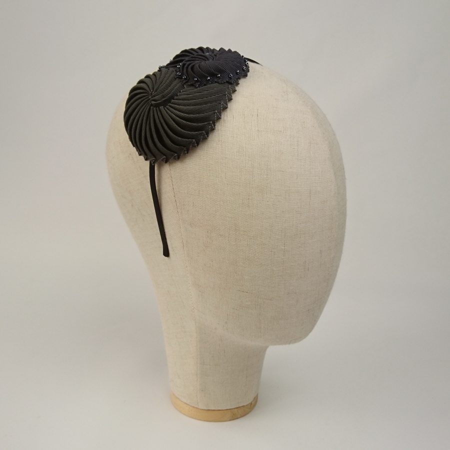Pewter Nautilus Shell Headband