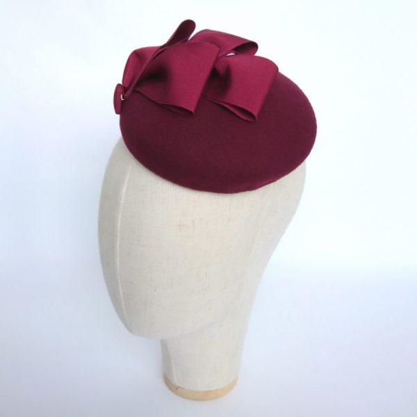 Autumn or winter wedding hat by Imogen's Imagination