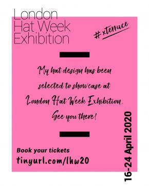 X Terrace London Hat Week Exhibition 2020 Selected Milliner Post3