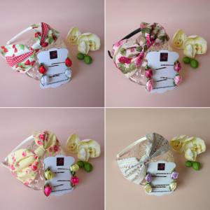 Floral Fringe Fixer Sets
