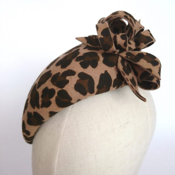 Classic Leopard Print Hat by Imogen's Imagination