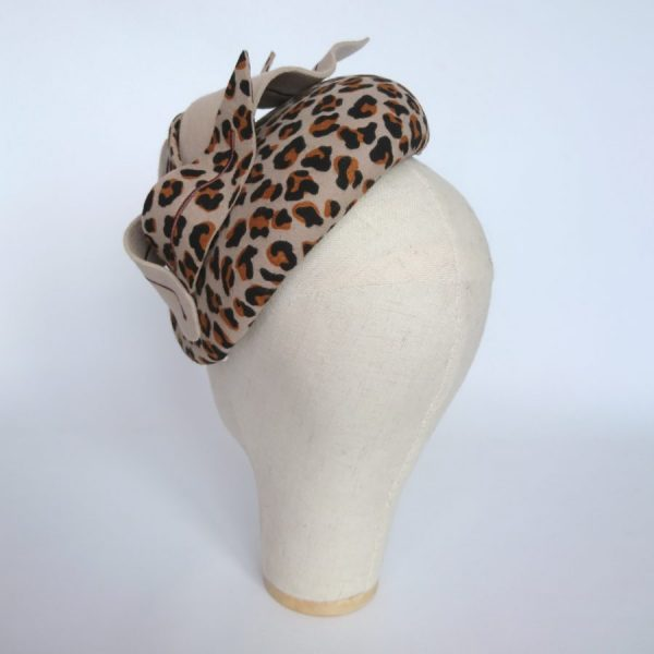 Leopard Felt Hat by Imogen's Imagination