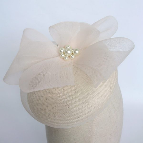 Ivory Summer Wedding Hat