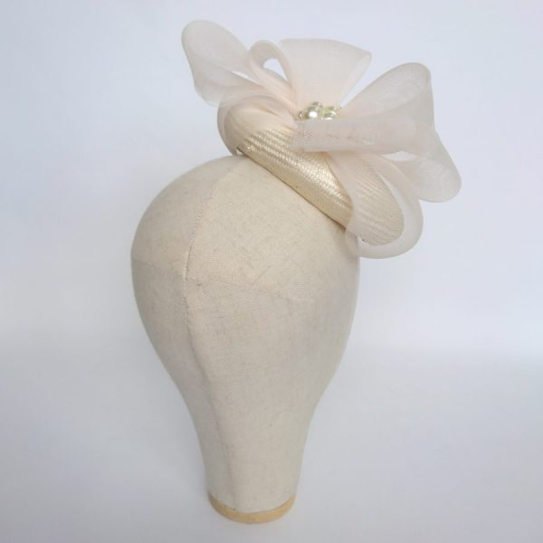 Contemporary Bridal Hat by Imogen's Imagination