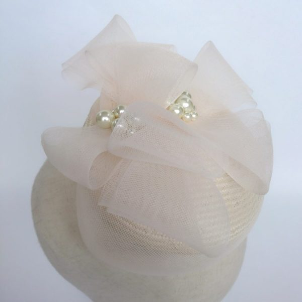 Ivory Spring Wedding Hat