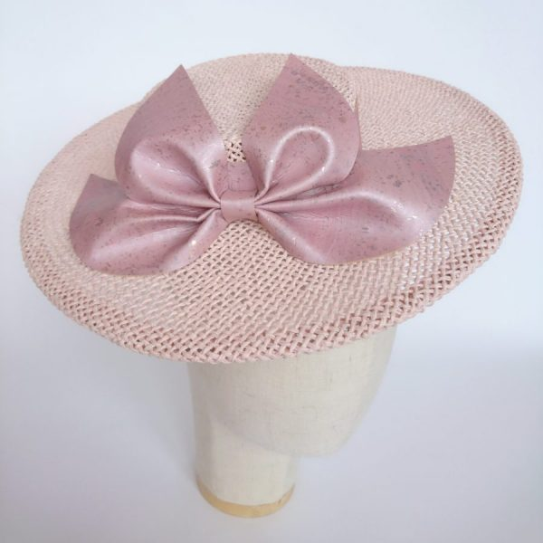 Pink Mother of the Groom hat by Imogen's Imagination