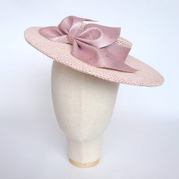 Pink Vegan Friendly hat by Imogen's Imagination