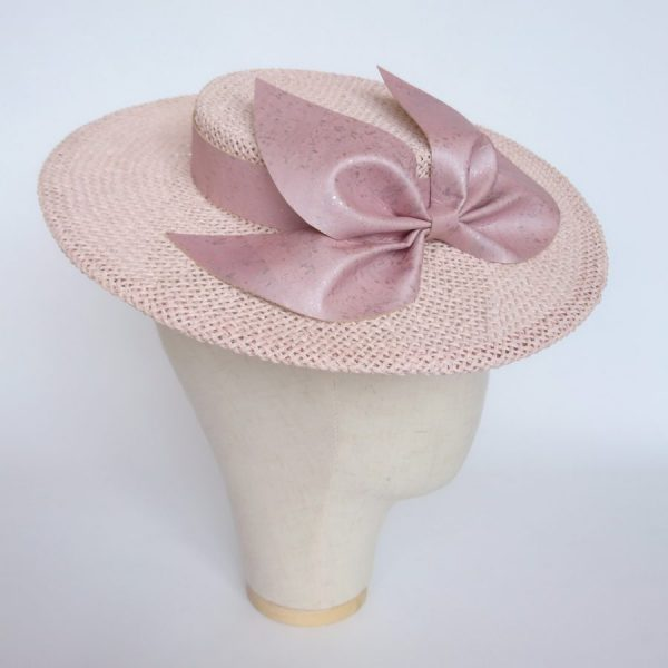 Pink Mother of the Bride hat by Imogen's Imagination