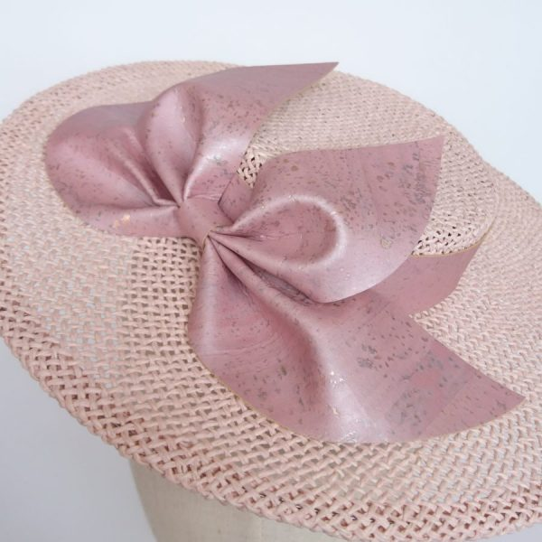 Pink race day hat by Imogen's Imagination