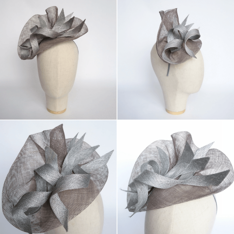 Bespoke Fascinator for an event at Buckingham Palace