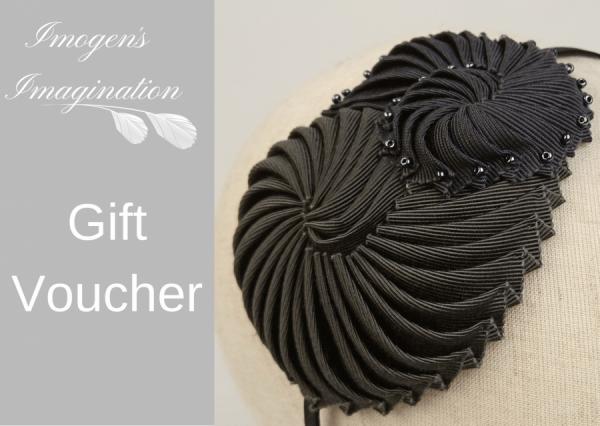 Nautilus headband gift voucher design