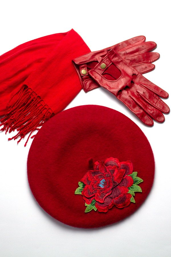 New Red Women's Beret for AW 2019