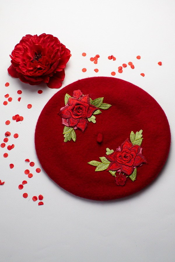 New Berets for AW 2019 Red