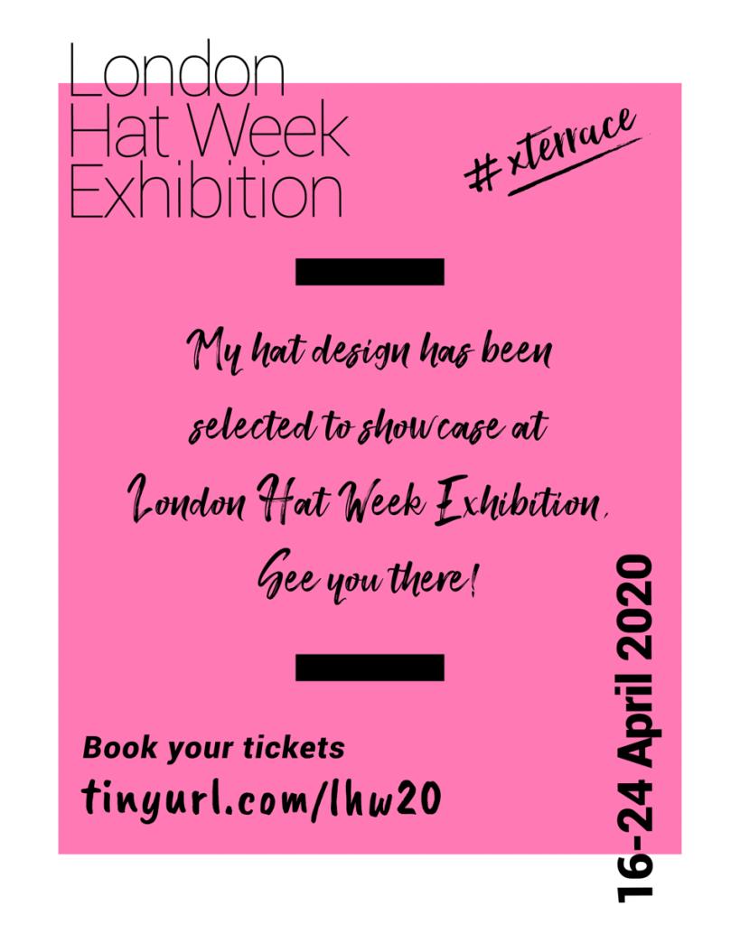 X Terrace London Hat Week Exhibition 2020