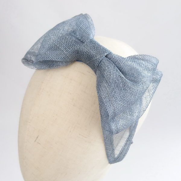 Dusky Blue Bridesmaid Hair Accessories